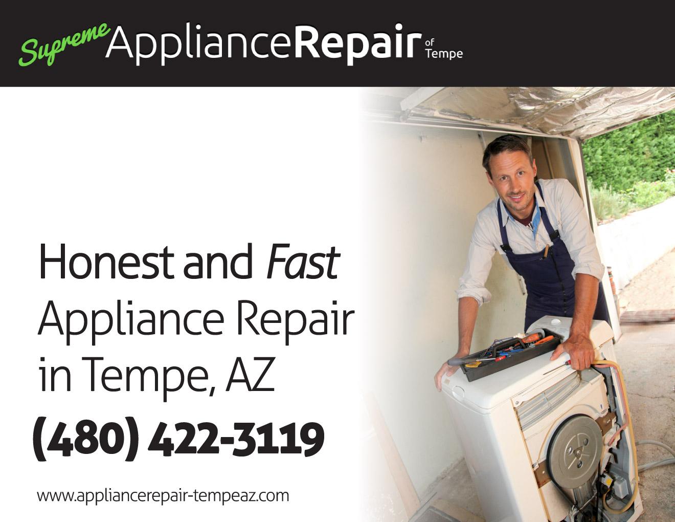 Supreme Appliance Repair Of Tempe 480 422 3119